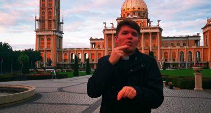 Pielgrzymka Niesłyszących do sanktuarium w Licheniu